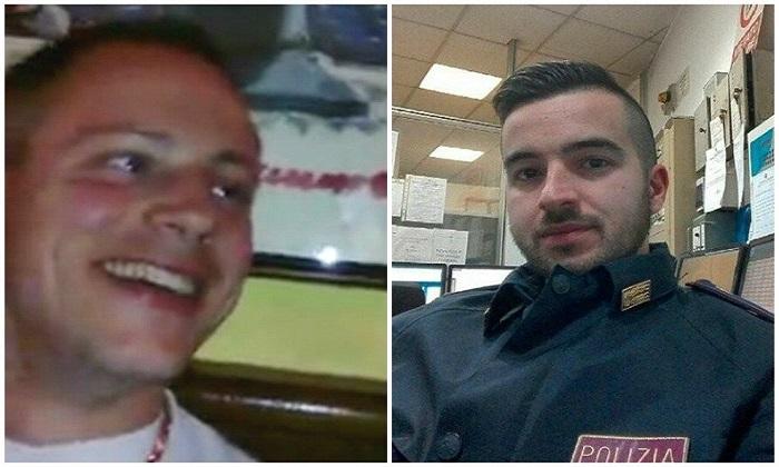 Cristian e Luca, chi sono i due agenti che hanno fermato Anis