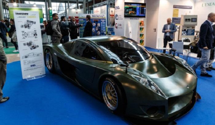 Hizev, presentata a Rimini la supercar elettrica e Made in Italy