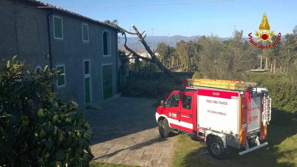 Maltempo in Toscana: i Vigili del Fuoco di Varese partiti per dare il cambio ai colleghi ed aiutare nei soccorsi