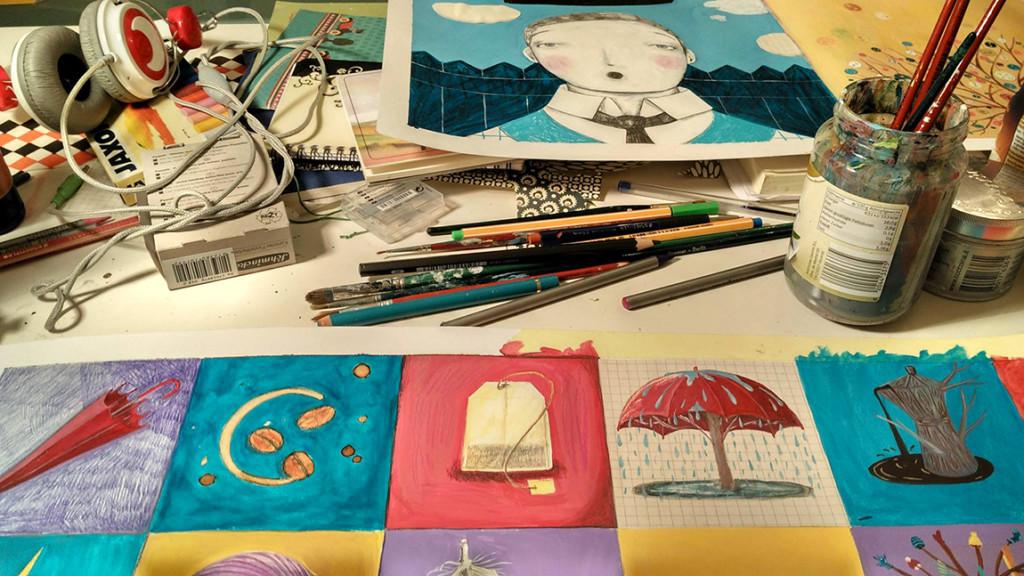 """""""Luinesi all'estero"""", a Berlino Francesca Sai è illustratrice e lavora a diversi progetti editoriali - """"Il mio amato caos"""""""