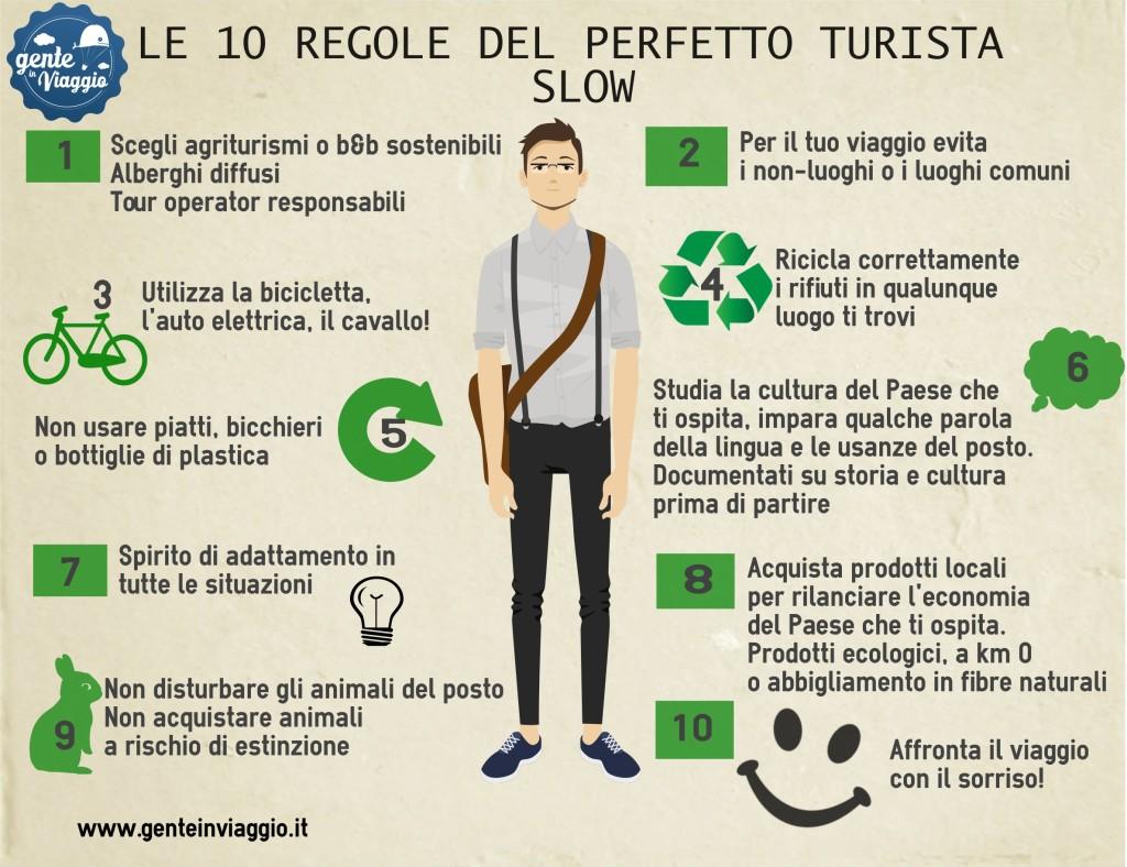 infografica - Turista slow