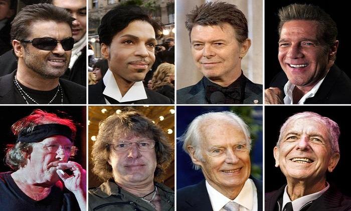 """Musica,""""Annus horribilis"""": il 2016 che ci ha tolto artisti come Bowie e Michael"""