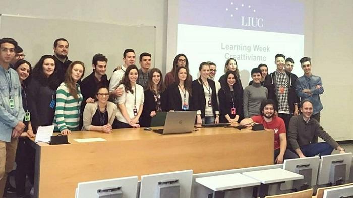 """Università Liuc, l'esperienza di un giovane luinese sul progetto creativo """"Learning Week"""""""