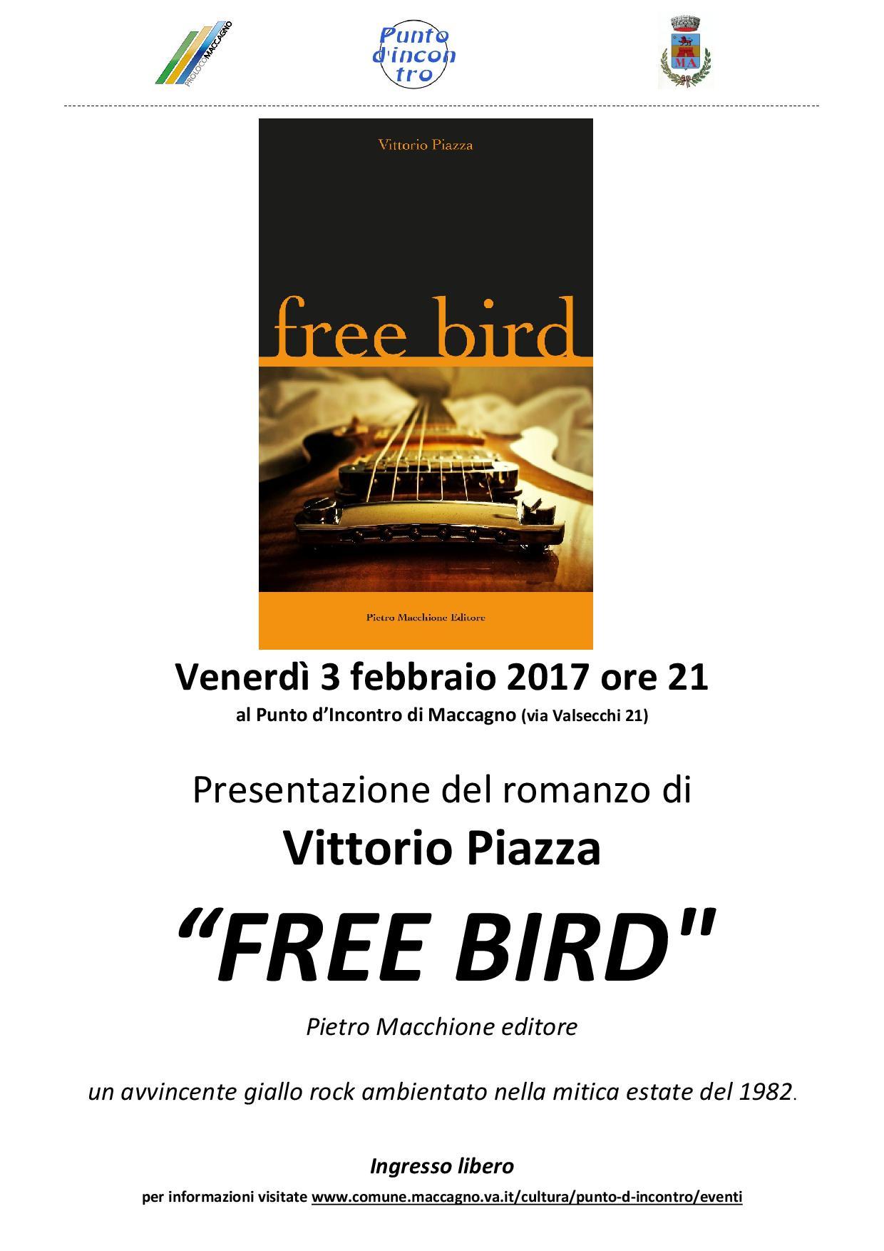Maccagno, venerdì Vittorio Piazza presenta il libro della sua estate rock