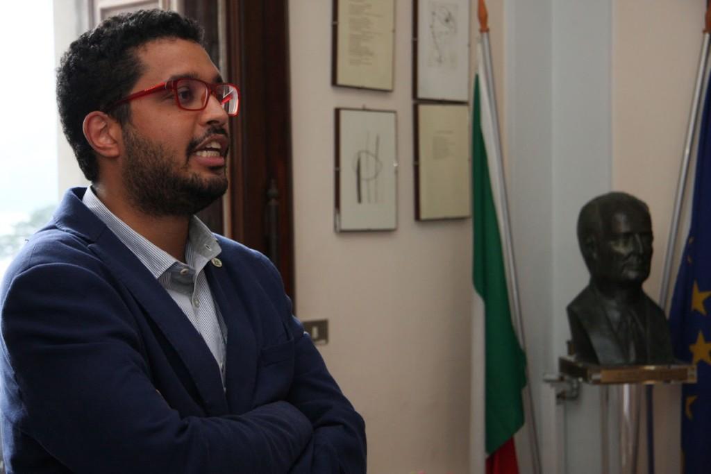 Alessandro Franzetti, presidente consiglio comunale di Luino