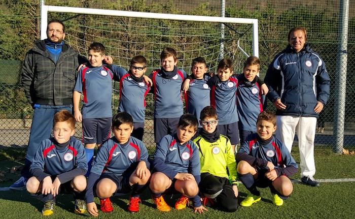 Una squadra del settore giovanile del Luino-Maccagno, anno 2005