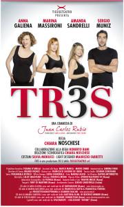 """La locandina di """"Tres"""" (marinaalessi.com)"""