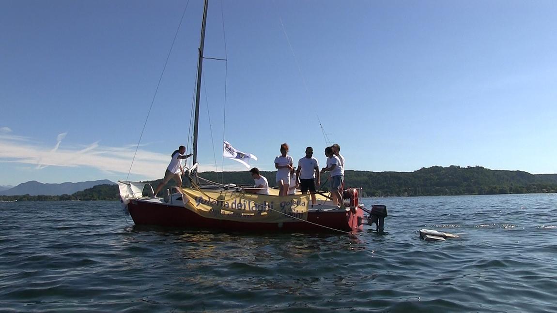 Lago Maggiore, la sponda piemontese di gran lunga meno inquinata di quella lombarda
