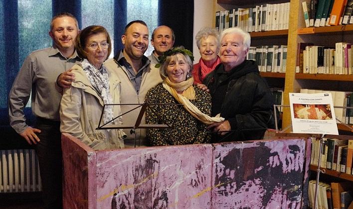 """Luino, conferenza-spettacolo per Dante Alighieri in Villa Hussy. Brigandì: """"Finalmente a casa"""""""