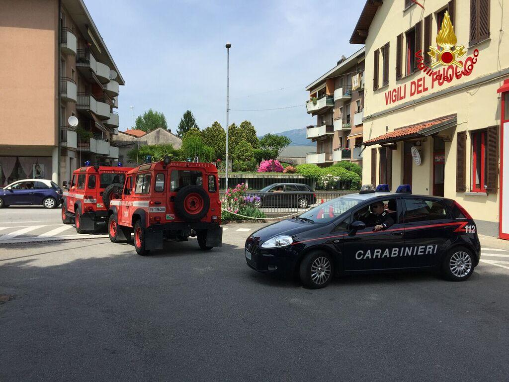 Scomparso un sessantenne nel luinese, i Vigili del Fuoco ed i Carabinieri al lavoro