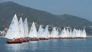 "Le imbarcazioni ""Dinghy 12""(Foto © James Robinson Taylor - dinghy12flottaromana.blogspot.com)"