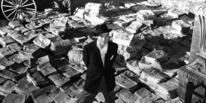 "Il regista Orson Welles, in ""Citizen Kane""(huffingtonpost.com)"