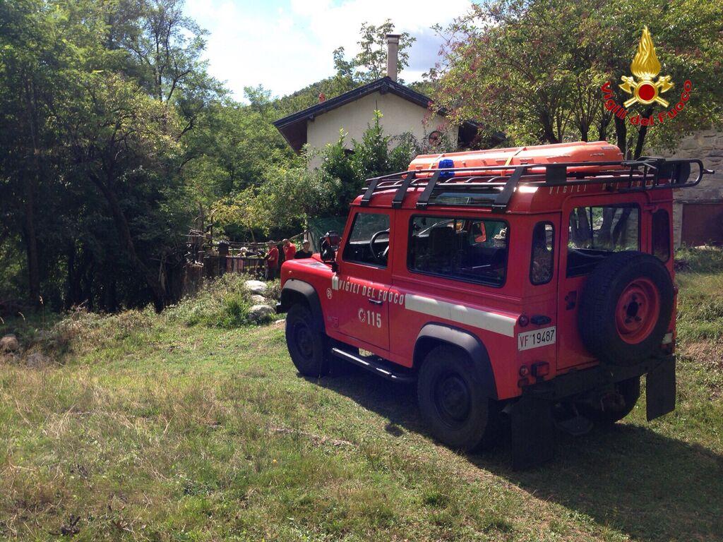 Duno (VA), un turista milanese si perde nel bosco. Ritrovato dai Vigili del fuoco