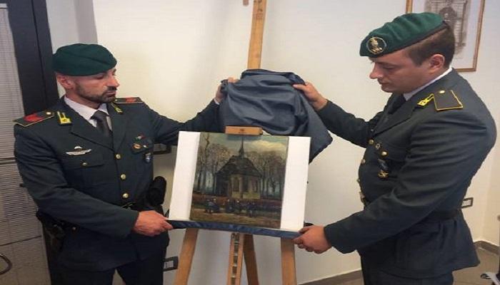 Recuperati a Napoli due quadri di Van Gogh per un valore di 100 milioni di euro