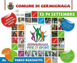"""La locandinda di """"Germignaga vive di Sport"""" (comune.germigaga.va.it)"""
