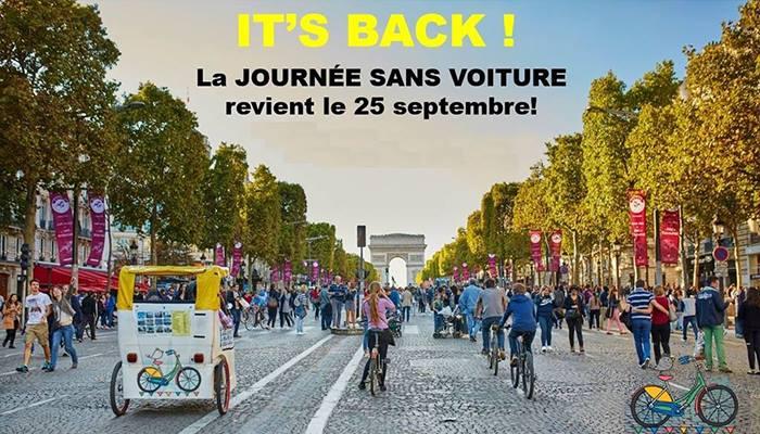Francia, inizia oggi la sfida ambientalista. Riusciranno i parigini a rinunciare all'auto per una settimana?