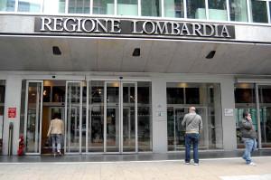 L'ingresso a Regione Lombardia (rovato.org)