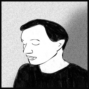 "Samuele De Marchi, autore della comic strip ""The Unemployed"""