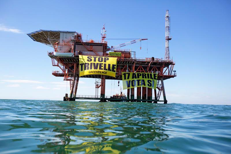 Greenpeace: un 2016 in prima linea per l'ambiente, ecco le immagini più belle