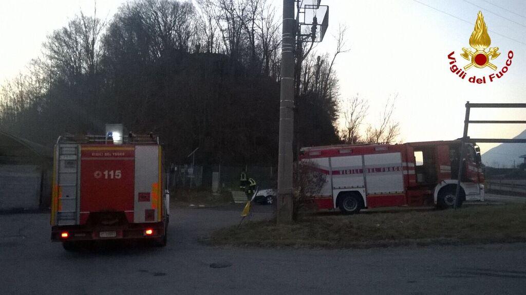 Brenta, fuga di gas da una centralina. Tecnici e Vigili del Fuoco mettono in sicurezza l'area