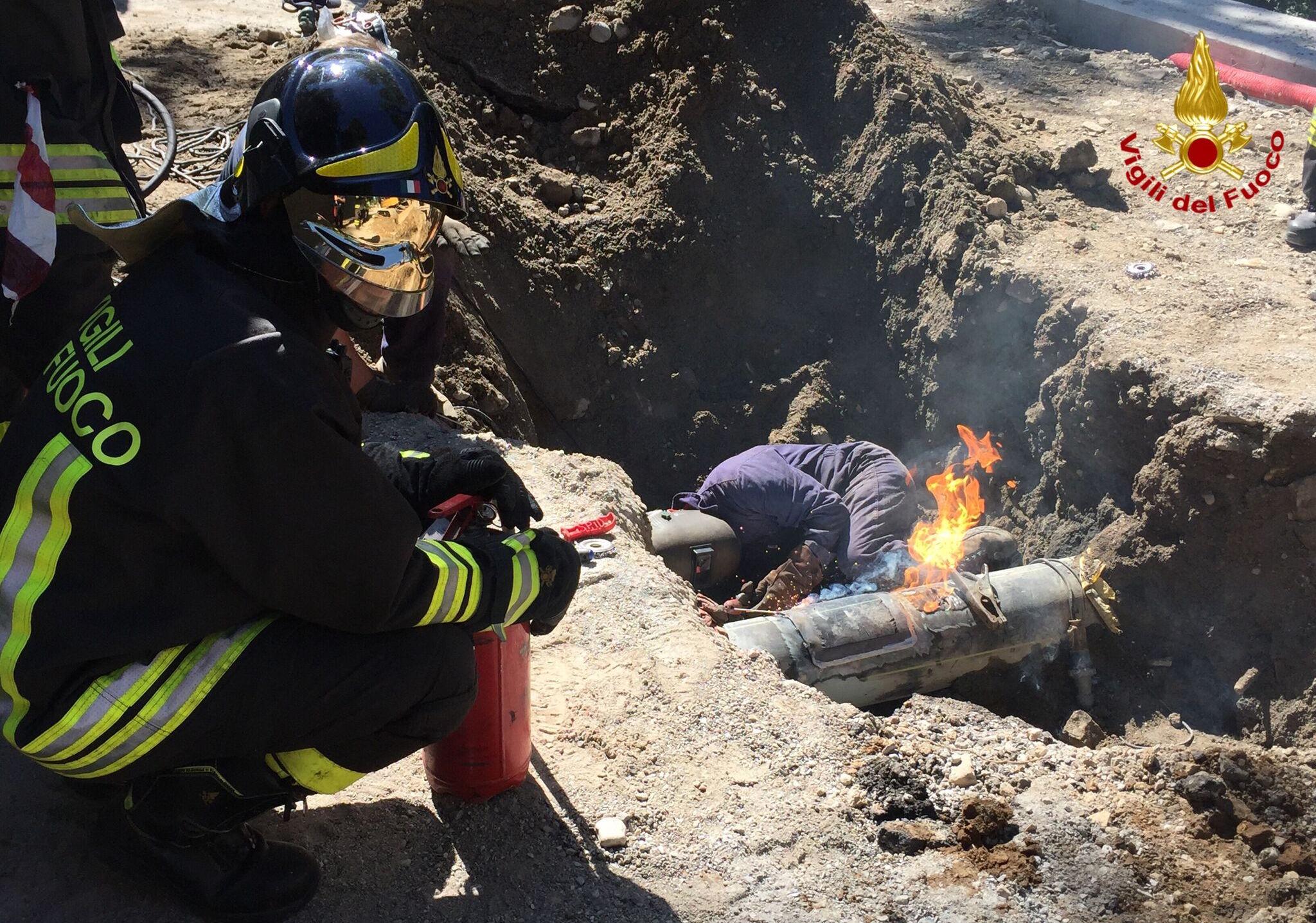 Cunardo: fuga di gas, case evacuate. Sul posto operatori e mezzi di soccorso