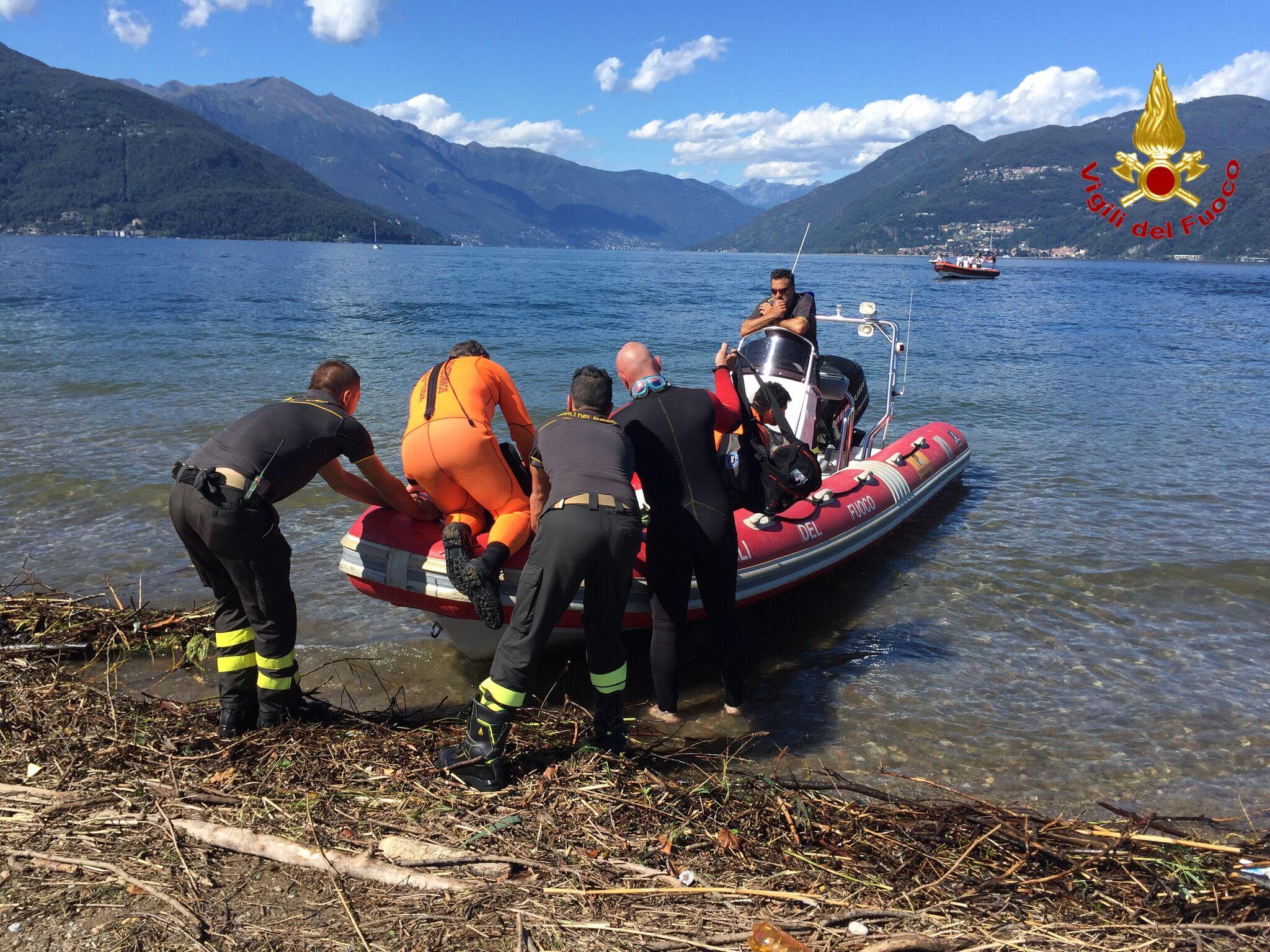 Tragedia a Germignaga, un 27enne muore annegato nelle acque della foce del Tresa