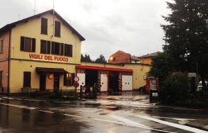 La caserma dei Vigili del Fuoco di Luino, sita in via Don Folli