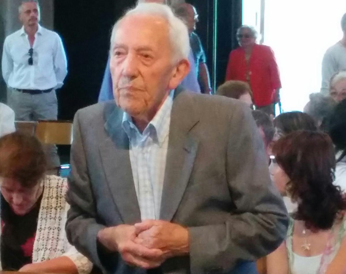 Brezzo di Bedero, tanti auguri a Raimondo Xausa per i suoi centun'anni di giovinezza